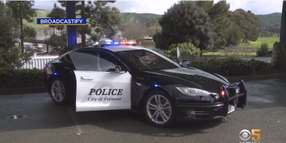 CA Agency's Tesla Patrol Car Runs Out of Juice During Pursuit