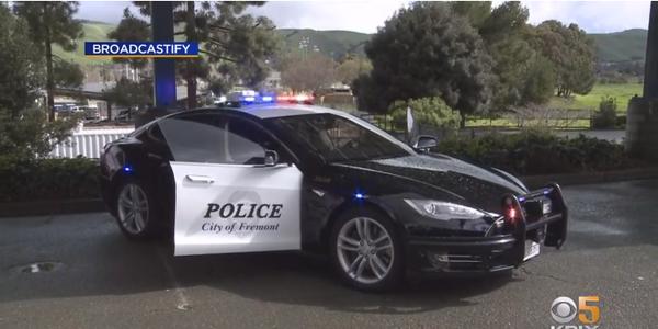CA Agency's Tesla Patrol Car Runs Out of Juice During Pursuit