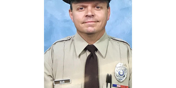 "Officer James ""Mitch"" Ellis, 49, died in a head-on collision on his way home from work."