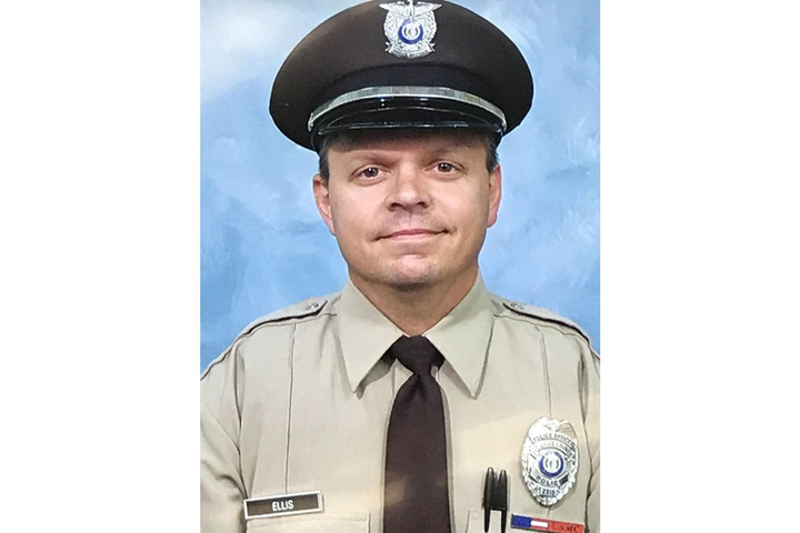 """Officer James """"Mitch"""" Ellis, 49, died in a head-on collision on his way home from work.  - Photo: St. Louis County PD"""