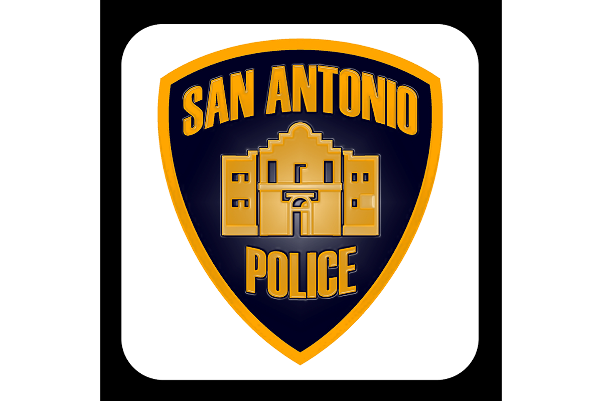 A San Antonio (TX) PD officer was seriously injured in the aftermath of a police pursuit.  - Image: San Antonio (TX) Police Department / Facebook