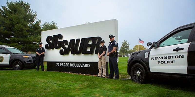 Newington (NH) Police Department Transitions to SIG Sauer P320 Pistol