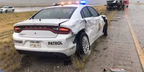 Utah Officer Injured in Vehicle Collision Expected to be OK