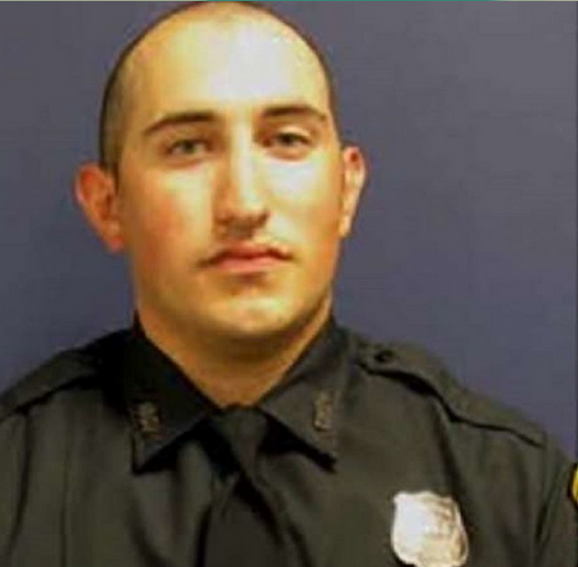 Officer John Daily was severely burned in a crash.  - Photo: Houston Police Department