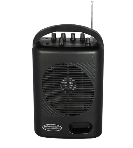 AmpliVox's new SW245B Dual Audio Pal is an ultra-portable complete sound system for indoor or outdoor use.  - Photo: AmpliVox