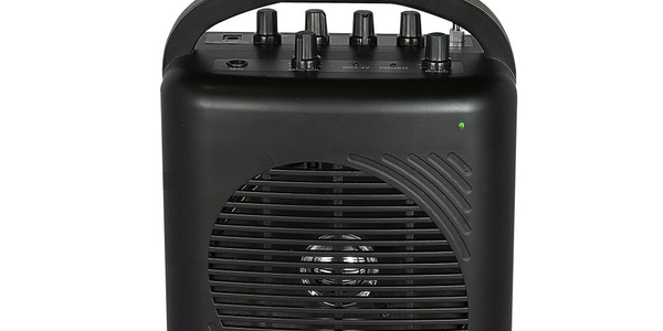 AmpliVox's new SW245B Dual Audio Pal is an ultra-portable complete sound system for indoor or...
