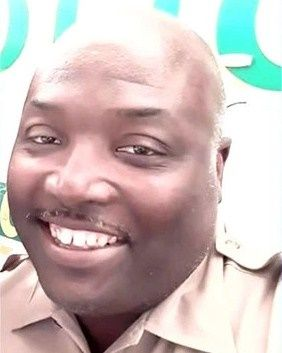 Officer Jermaine Brown with the Miami-Dade Police Department has reportedly died from injuries sustained when his all-terrain vehicle struck a tree near a canal where he was patrolling.  - Image courtesy of ODMP.