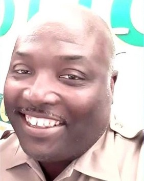 OfficerJermaine Brownwith the Miami-Dade Police Department has reportedly died from injuries sustained when his all-terrain vehicle struck a tree near a canal where he was patrolling.  - Image courtesy of ODMP.