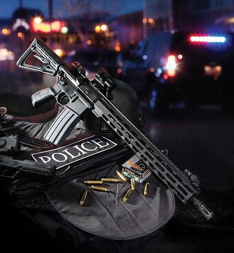The Philadelphia Police Department has adopted the SIG Sauer M400 Pro Rifle for its SWAT officers.  - Photo: SIG Sauer