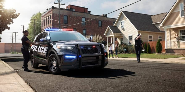 The 2020 Ford Police Interceptor Utility comes standard with a hybrid engine. Conventional gas...