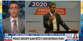 """FOP Slams Beto O'Rourke Over Plan to Have Officers Confiscate """"Assault Rifles"""""""