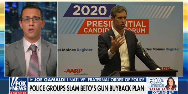 "FOP Slams Beto O'Rourke Over Plan to Have Officers Confiscate ""Assault Rifles"""