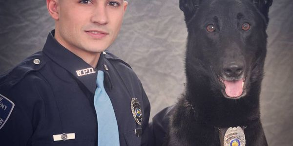 K-9 Dax died from an illness.