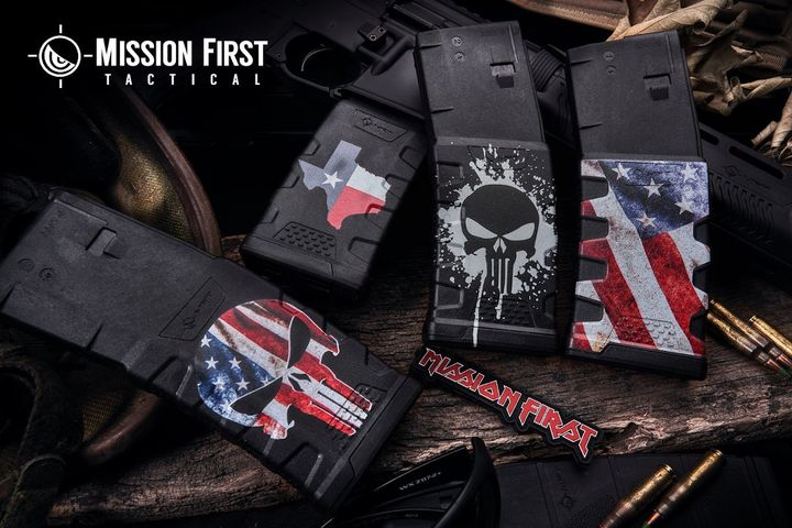 Mission First Tactical Decorated Extreme Duty 5.56 Polymer Magazine - Photo: Mission First Tactical