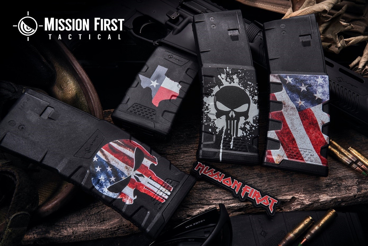 Mission First Tactical Introduces Decorated Extreme Duty 5.56 Polymer Mag