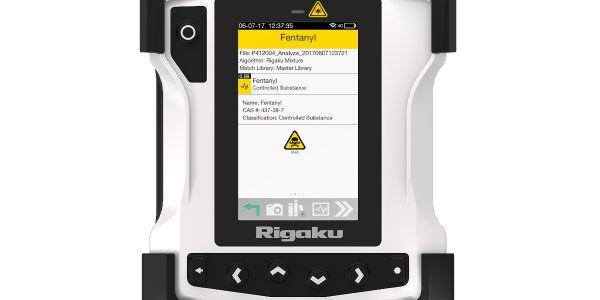Rigaku ResQ CQL handheld Raman analyzer