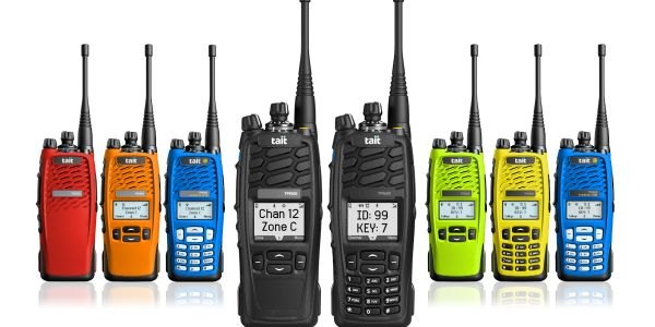 Tait Communications TP9500 and TP9600 Portable Radios