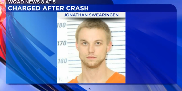 Jonathan Swearingen is facing multiple charges related to his reportedly striking an Iowa...
