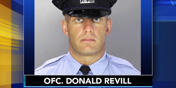 A man has been charged with attempted murder after Philadelphia Officer Donald Revill was shot.