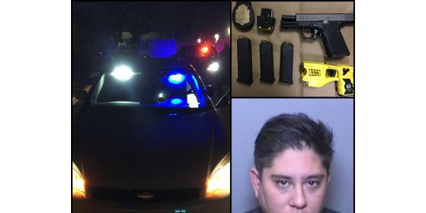A woman who was stopped by Costa Mesa (CA) Police because her Chevy Impala had an unauthorized...