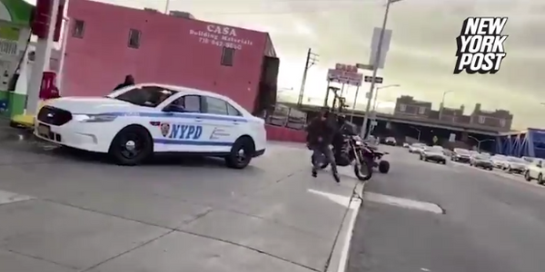 NYPD Officer Harassed by Dirt Bike Riders in Bronx