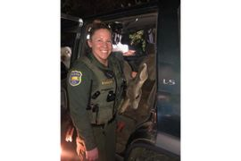 California Deputy Surprised to Find Deer in Back Seat at Traffic Stop