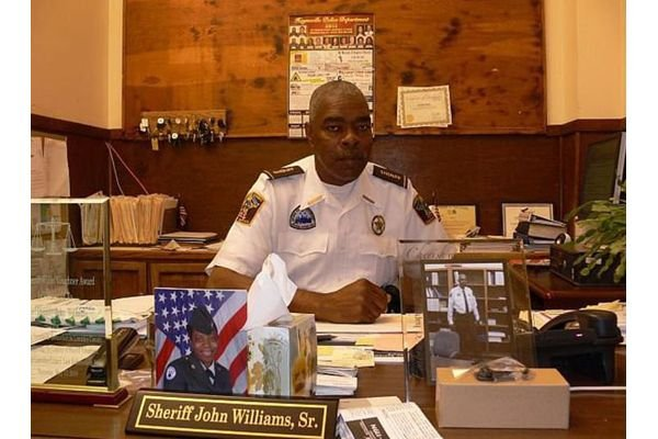 """The Lowndes County (AL) Sheriff's Office is mourning the loss of Sheriff John """"Big John"""" Williams, Sr. after he was shot and killed while responding to a trespassing and noise complaint call at a convenience store on Saturday night. - Image courtesy ofLowndes County (AL) Sheriff's Office."""