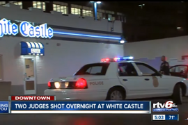 3 Indiana Judges Suspended Over April Drunken Fight that Led to 2 Being Shot at White Castle