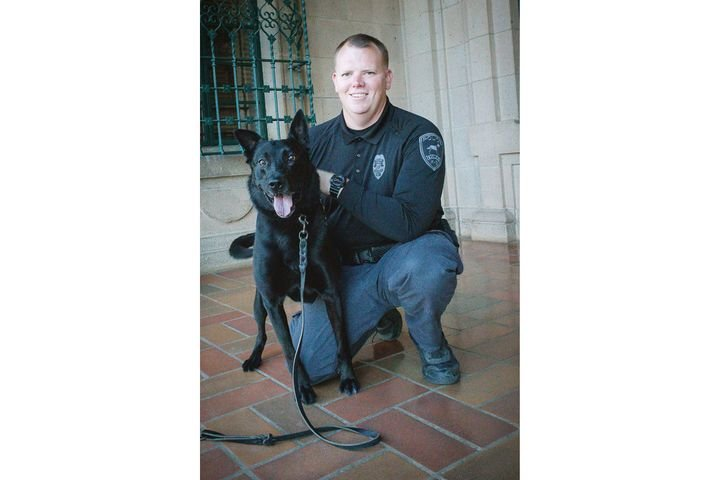 K-9 Bolowas recently diagnosed with cancer and it spread rapidly.Bolo's career accomplishments includes 537 deployments that included building and vehicle searches and narcotic detection that took illegal drugs, paraphernalia and guns off the streets of Yuma. - Image corutesy of Yuma Police Department / Facebook.