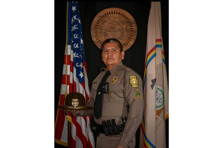 """It is with great sorrow and significant grief that the Navajo Police Department announces the passing of Police Sergeant Lamar Martin,"" Phillip Francisco, Chief of Police Navajo Police Department, said on Facebook. - Image courtesy of Navajo Police Department / Facebook."