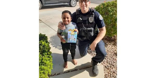 A five-year-old boy in Arizona called 911 with what to a child that age might consider an...