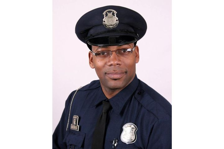 Officer Rasheed McClain, a 16-year veteran of the Detroit PD was killed by a single gunshot wound. Another officer was shot in the leg. (Photo: Detroit PD)