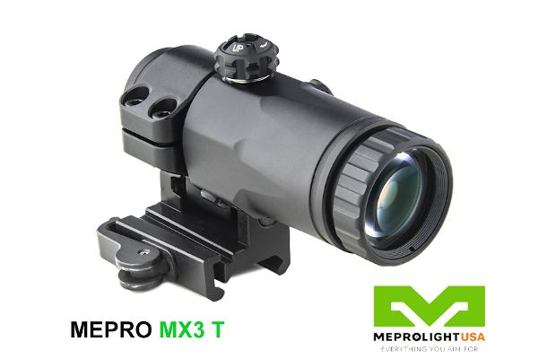 The Mepro MX3 T is compatible with Meprolight optical weapon sights and other manufacturers' sights. - Photo: Meprolight