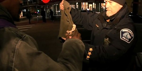A handful of officers with the Minneapolis Police Department are now equipped with warm hats and...