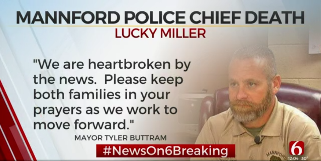 Video: Oklahoma Police Chief Killed in Florida, Officer Charged with Homicide