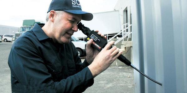 Zistos' ExplorerSCOPE is a 9mm diameter videoscope that allows an inspector to make a complete...