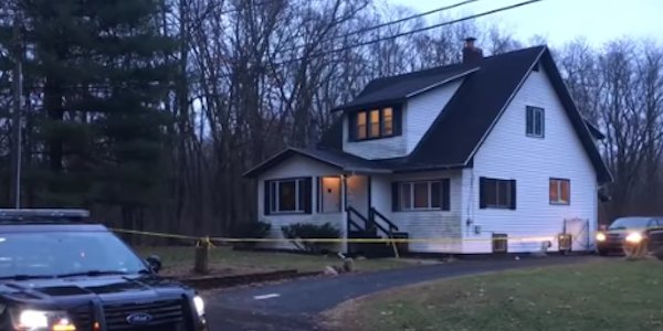 Three Michigan officers were shot and wounded and a homeowner killed by an intruder.