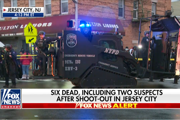 Officer, 5 Others Killed in New Jersey Standoff