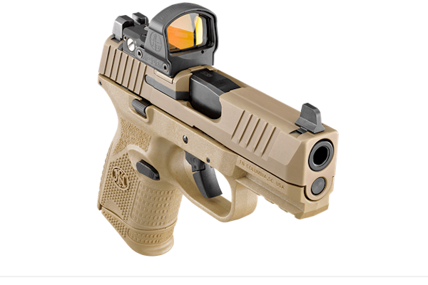 FN 509 Compact MRD optics-ready pistol - Photo: FN