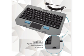 Gamber-Johnson Introduces Rugged Lite Keyboard
