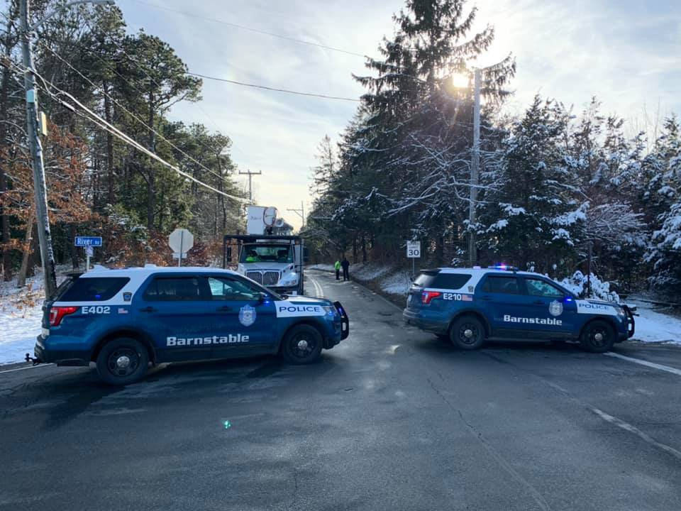 Massachusetts Officer Working Traffic Detail Struck by Vehicle