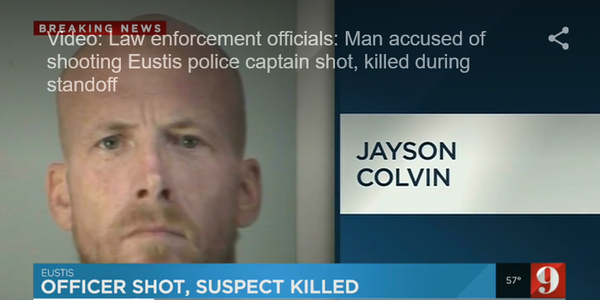 Video: Suspect in Shooting of Florida Captain Killed in SWAT Standoff