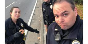 "Georgia Officers' ""Donut Disaster"" Social Media Post Goes Viral"