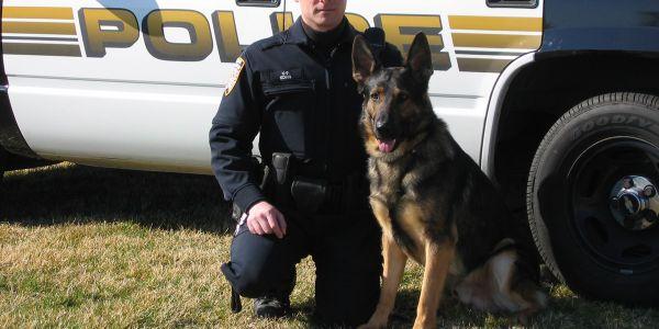 Officer Brad Kohn and K-9 Axel are retiring together.