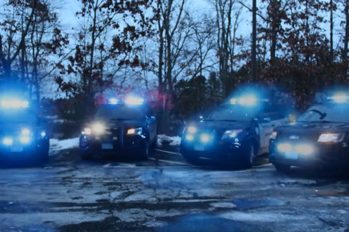 The Stow (MA) Police Department posted a video to Facebook last week that has garnered more than 2.6 million views and 25,000 shares. - Image courtesy of Stow PD / Facebook.
