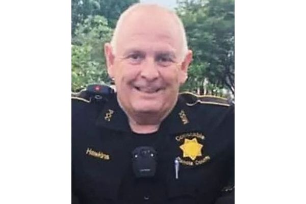 Constable Eula Ray Hawkinswas killed in a head-on crash Thursday afternoon. - Image courtesy ofPanola County Constable's Office.