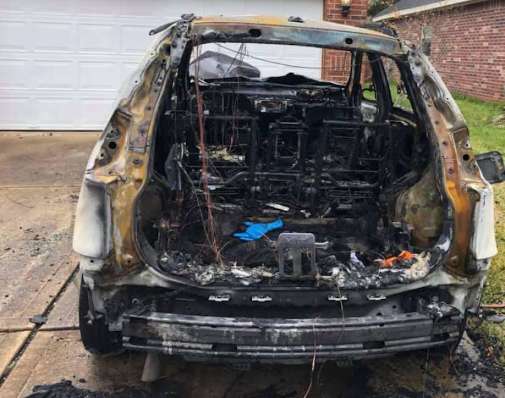 Texas Deputy's Home and Car in Driveway Firebombed