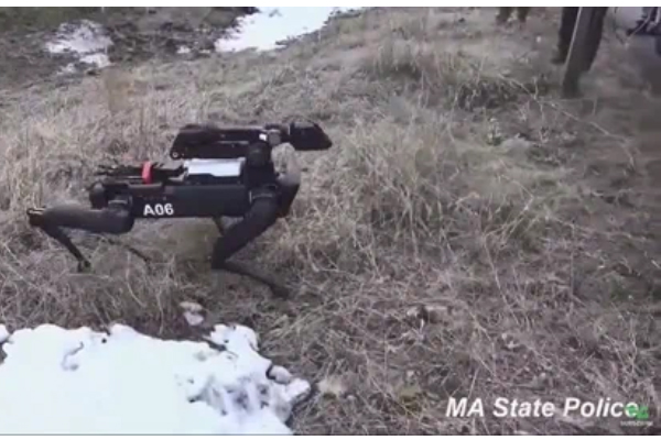 Massachusetts State Police Briefly Tested Robot Dog