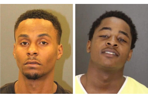 Zayne Abdullah, 23, and Donnell Burgess, 20, were arrested in connection with a case involving a police officer who was assaulted while attempting to detain a man. Police also arrested a 17-year-old, not pictured. - Photos: Baltimore Police Department
