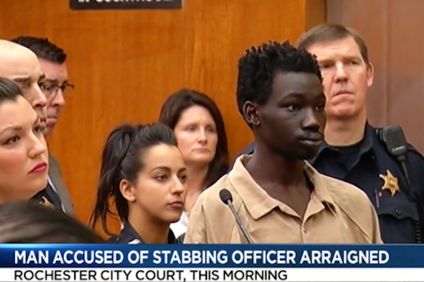 New York Officer Stabbed On Duty, Suspect Pleads Not Guilty